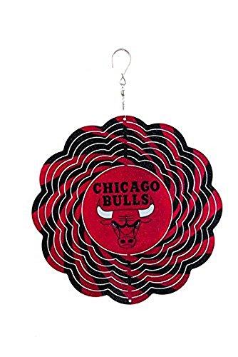 NBA Officially Licensed 10'' Team Logo Geo Spinner (Chicago Bulls) by NBA