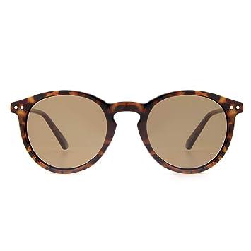 Amazon.com: Cyxus - Gafas de sol retro redondas de los años ...