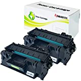 INK4WORK Compatible Toner Cartridge Replacement for HP CE505A 05A Laserjet P2035 P2035n P2055d P2055dn P2055X (Black, 2-Pack)