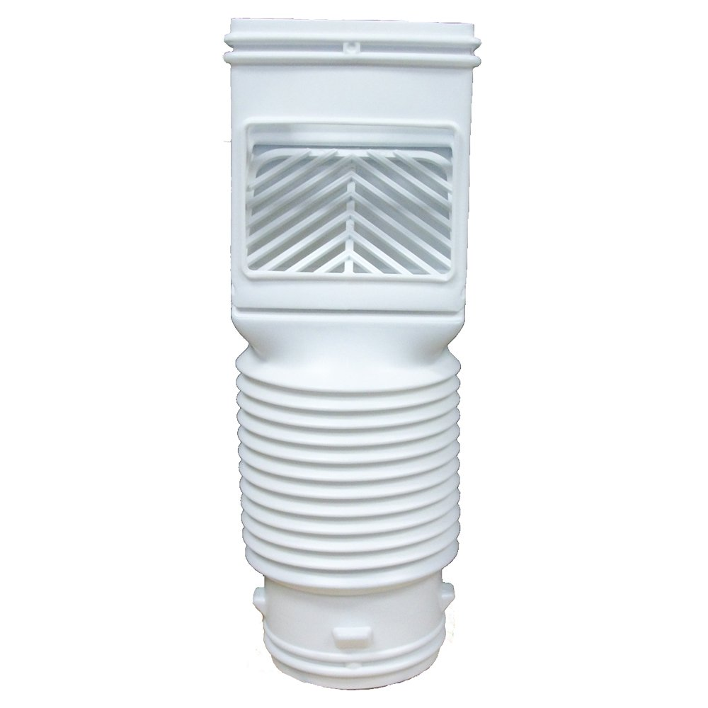 InvisaFlow 4490 Downspout Filter, White