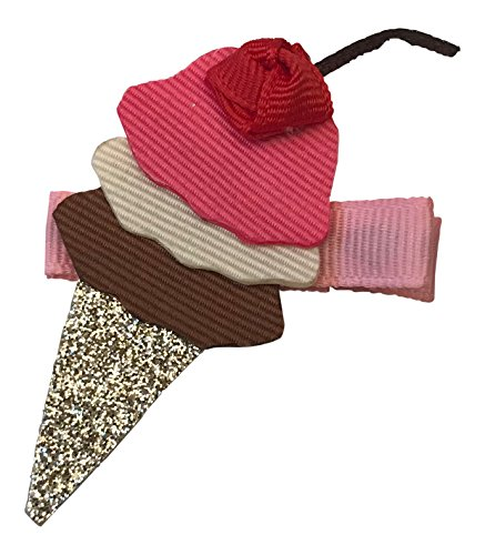 Bows for Belles Ice Cream Cone Ribbon Sculpture Made in the USA ()
