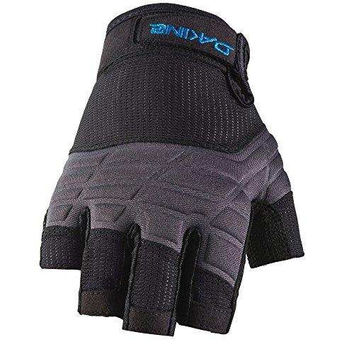 Finger Dakine Glove Full - Dakine Half Finger Sailing Gloves, Black, Small