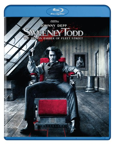 Blu-ray : Sweeney Todd (2007) (Subtitled, Dubbed, Dolby, AC-3, Widescreen)