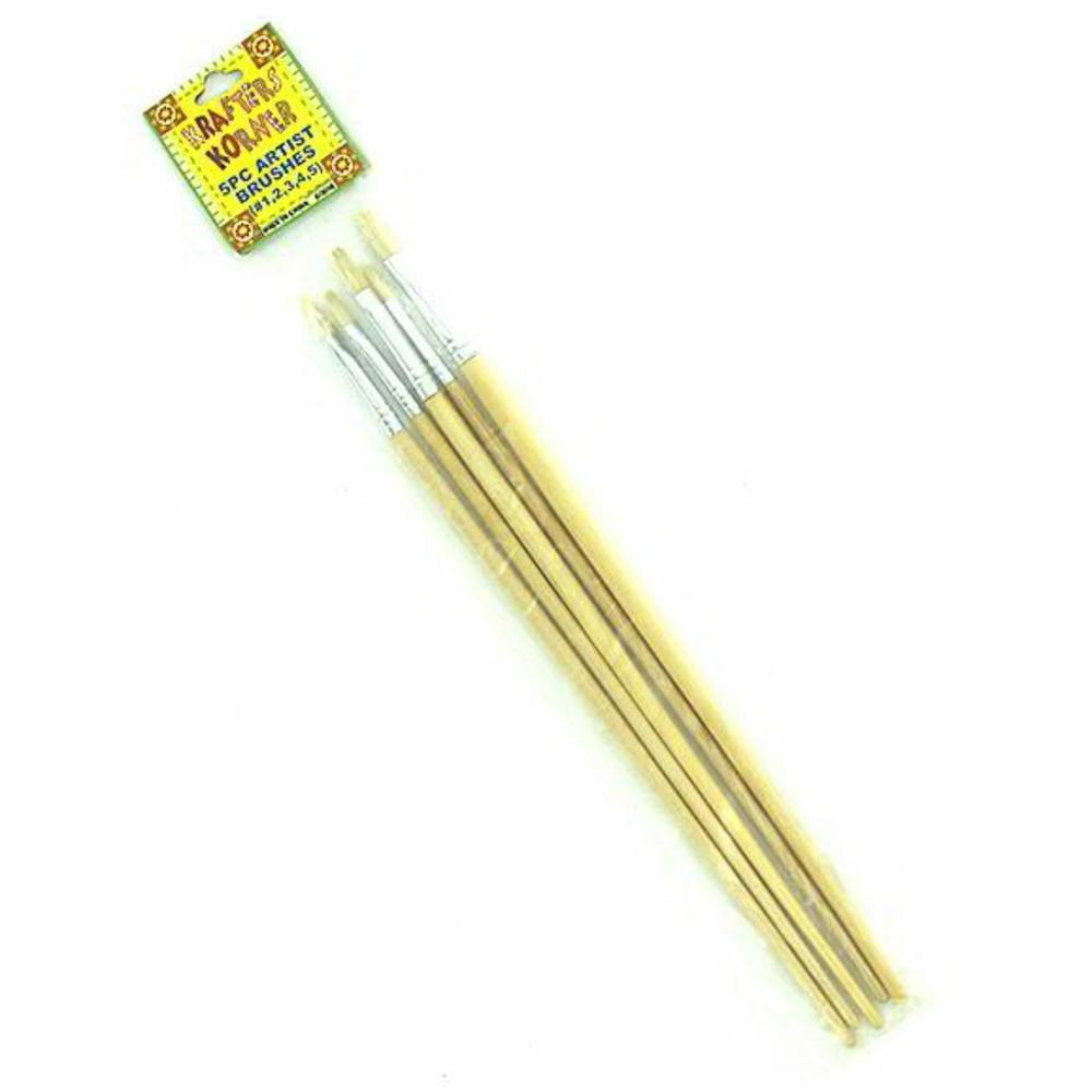 96 5 Pack artist brushes