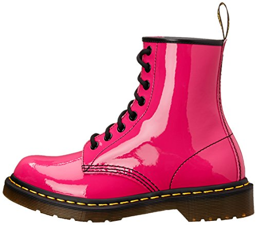 Patent Adulto Pink Stivaletti Dr Unisex Martens Hot 1460 ERWqq0P6an