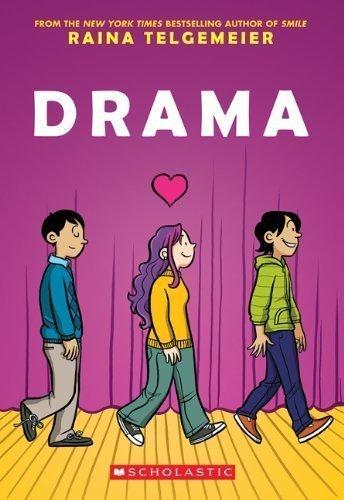 Drama 1st (first) Edition by Telgemeier, Raina [2012]