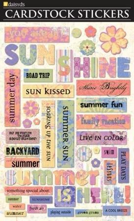 (Daisy D's Salt Water Taffy Sticker, Sunshine)