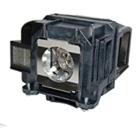 QueenYii ELPLP88 Compatible for EPSON VS240 Replacement Projector Lamp with bulb inside