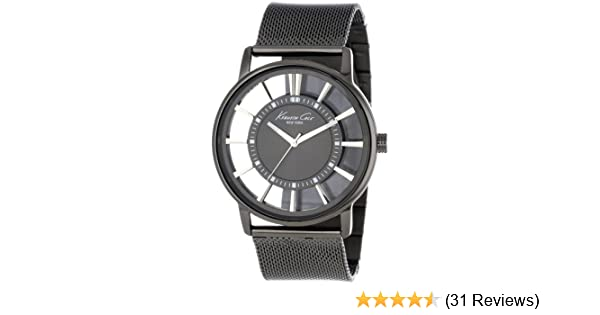 Amazon.com: Kenneth Cole New York Mens KC9176 Gray Stainless Steel Watch with Mesh Band: Kenneth Cole: Watches