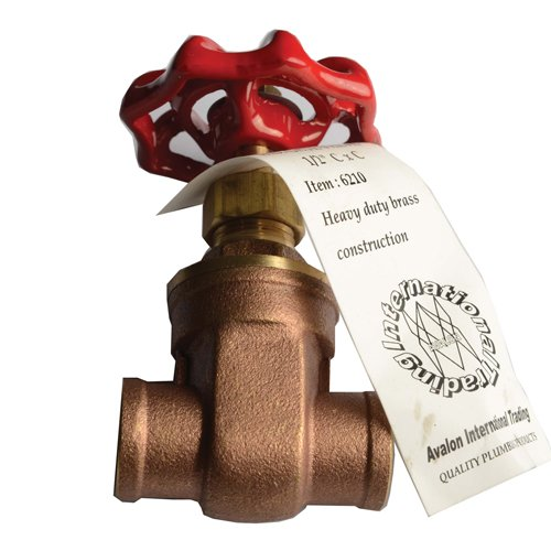 Heavy Duty Brass Gate Valve 1