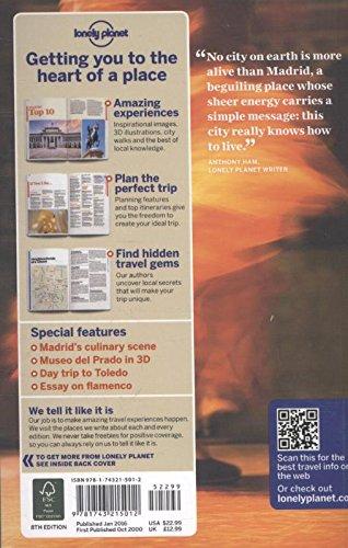 Madrid City Guides Amazon De Planet Lonely Fremdsprachige Bucher