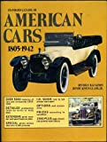 Standard Catalog of American Cars, 1805-1942, Beverly R. Kimes, 0873410459