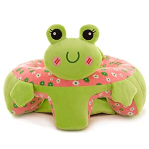 Baby Sofa Infant Support Seat Learning Sitting for Pillow Chair Cushion Bouncer Feeding Pillows Soft Elephant Plush Floor Toy Seats Suitable for Play 3-16 Month Infants Pre-Kindergarten Toys