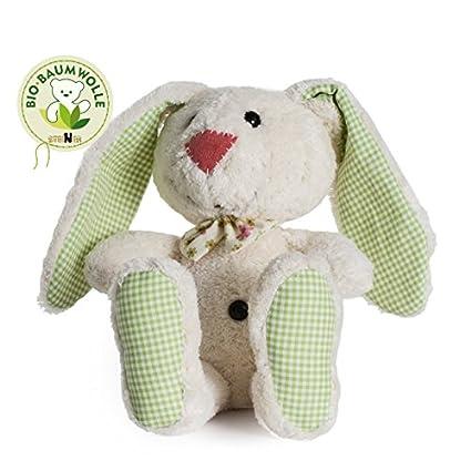 Tela animales conejo margaritas – sin bordado – de Steiner – Peluche hecha a mano