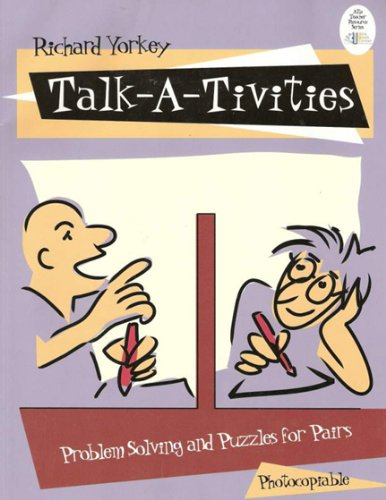 Talk-a-tivities: Problem solving and puzzles for pairs (Tivity Center)