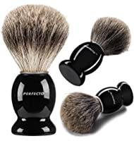 Pure Badger Shaving Brush-Black Handle