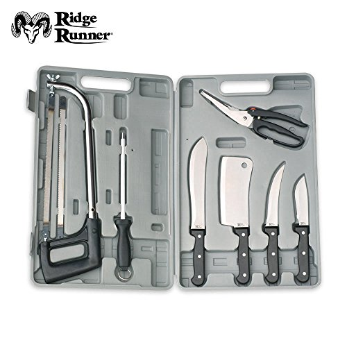 Ridge Runner Deluxe Game Cleaning Knife And Saw Kit - Meat Saw