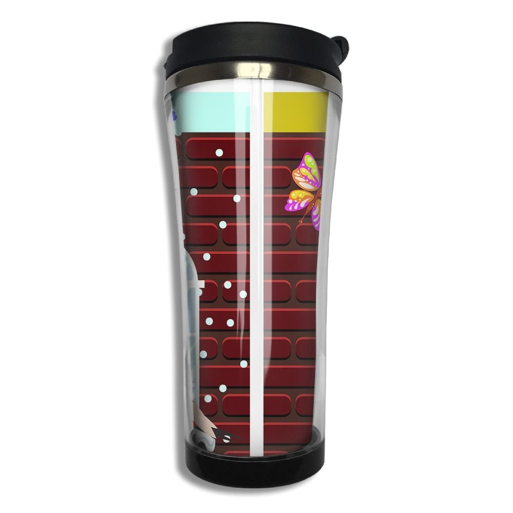 Stainless Steel Travel Mug Winter Summer Windows Coffee Cup Tumbler With Lid 14.3 Oz