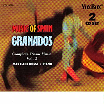 Enrique Granados, Marylene Dosse - Complete Piano Music - Amazon.com Music