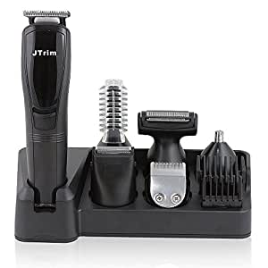 grooming kit for men by jtrim ultimate progroomer 6 in 1 body groomer beard trimmer. Black Bedroom Furniture Sets. Home Design Ideas