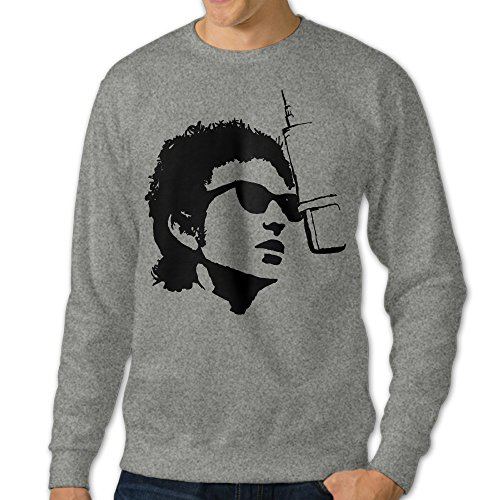 101Dog Bob Dylan Mens Pullover Sweatshirt Medium - Downton Boston