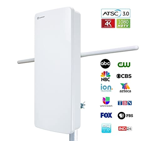 Review Outdoor TV Antenna, ANTOP