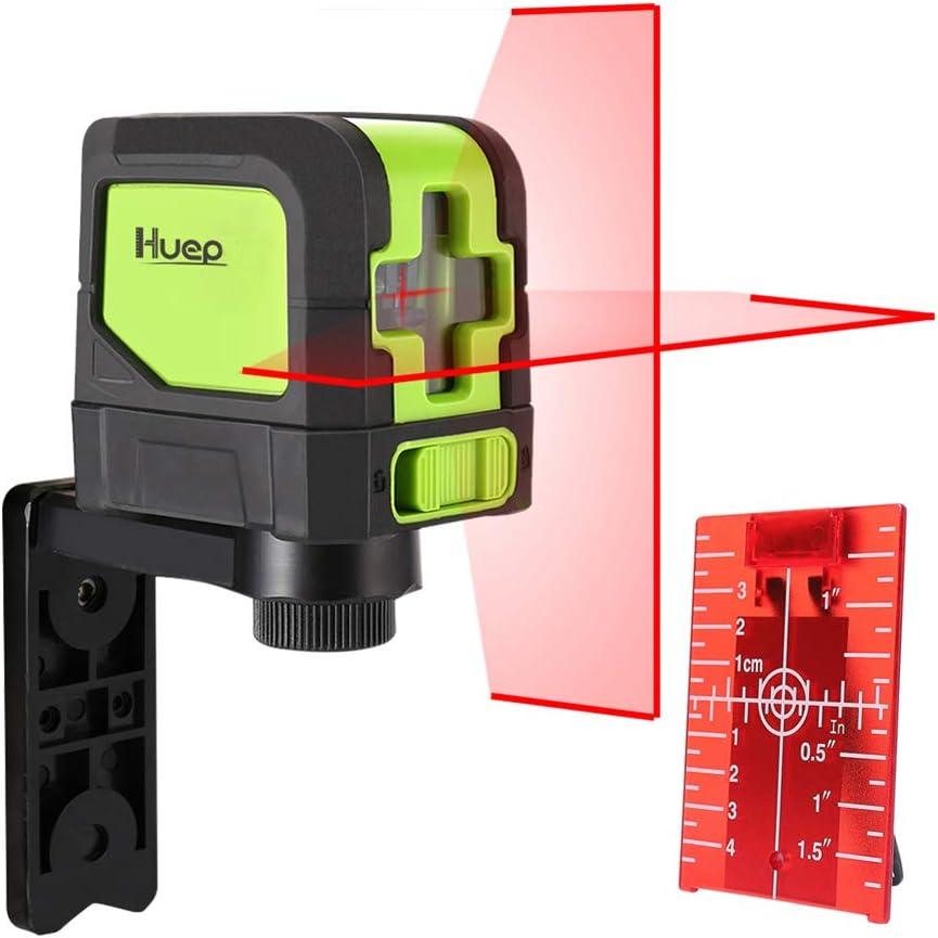 Nivel Láser Verde/Rojo, Láser De Línea Con Modo De Pulso, Línea Vertical Y Horizontal Nivel De Láser De Línea Autonivelante Con Base Giratoria Magnética De 360 °,Green laser level