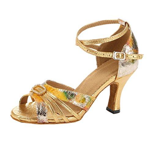 Heel Joymod MGM Donna Ballerine 8cm Gold R1xp8wq