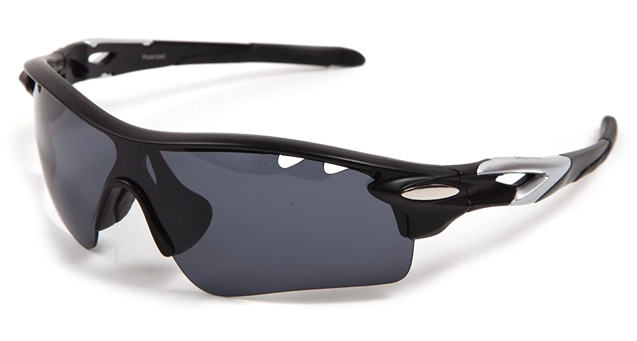 41824bc2aa943 Hulislem Wayfarers Style 70mm Sport Polarized Sunglasses -Case Color Maybe  Variation  Amazon.co.uk  Clothing