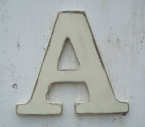 Painted Wood Letters (10 inch painted wood letter pick your color)