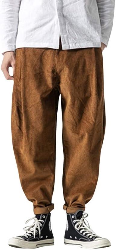 Geilisungren Pantalones Para Hombre Moda Hombres Pantalones De Retro Casual Suelto Cargo Jogging Pantalon Nuevo Hombres Pantalones Grandes De Moda Amazon Es Ropa Y Accesorios