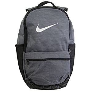 Nike New Brasilia (Medium) Training Backpack Flint Grey/Black/White