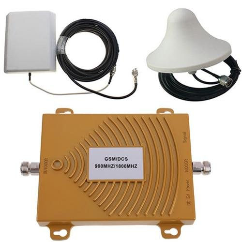 - GSM/DCS 900/1800MHz Dual Band Mobile Phone Signal Booster Amplifier Antenna Kit