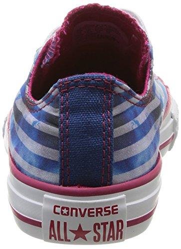 rose bleu amp; Converse Infantil Deporte Canvas Ox Azul Stars Chuck Zapatillas Taylor Bleu Bar De blanc qUUZan4