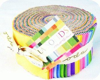 (Bella Solids 1930s Jelly Roll 40 2.5-inch Strips Moda Fabrics 9900JR 23)