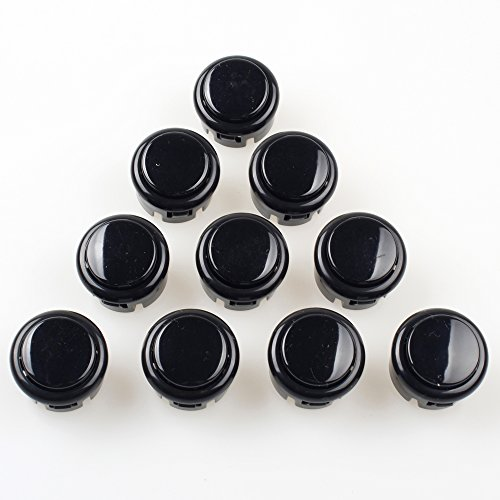 EG Starts 10x Arcade 30mm Push Buttons Switch Multicade For Arcade PC Games Mame Jamma KOF Arcade Pinball Machine Parts & Accessories