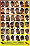 01YM Men & Boys Hairstyle Guide Barber Poster 36 Unique Styles 24' x 36'
