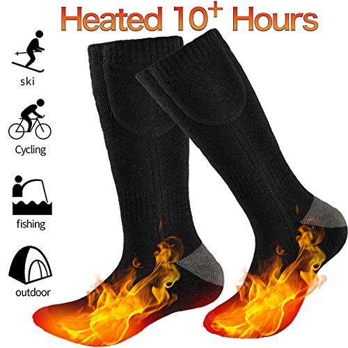 GREATSSLY Heated Socks for Men & Women