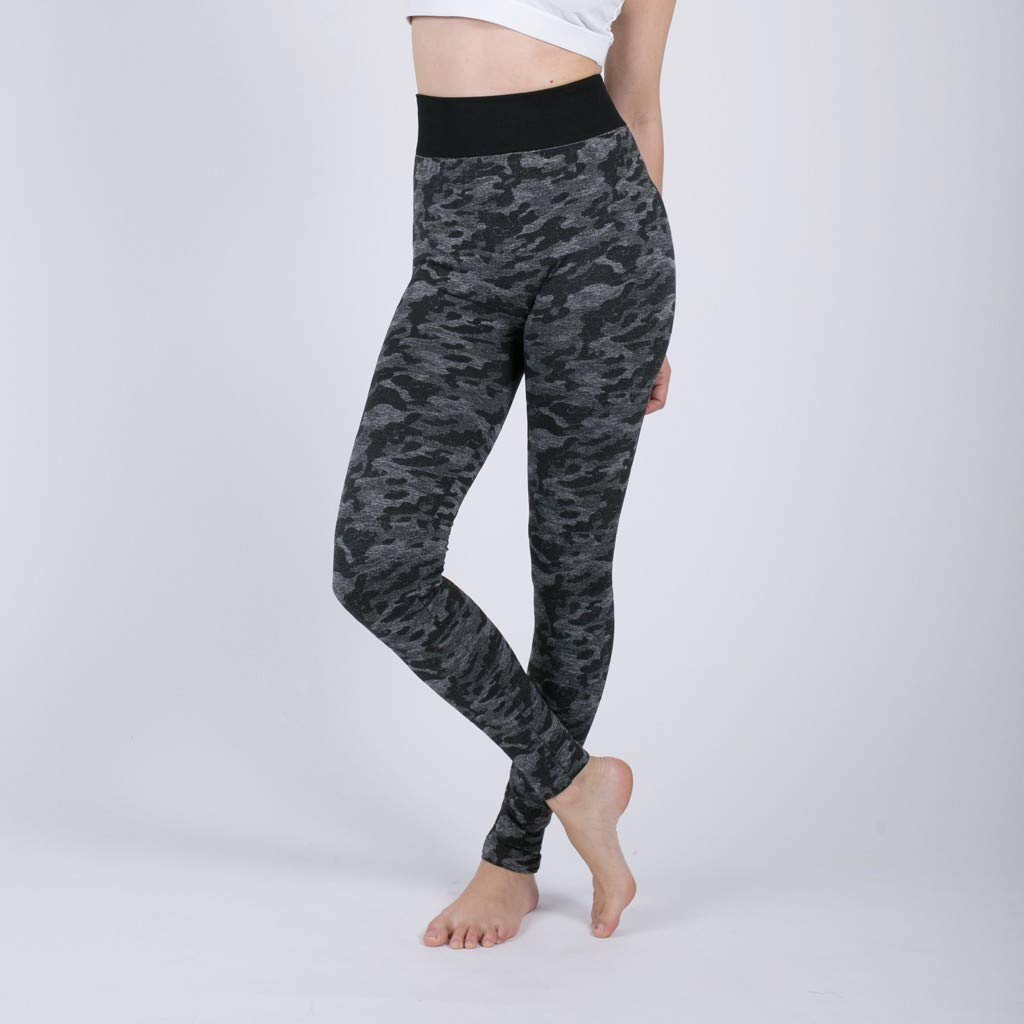 Amazon.com: Xinantime Womens Yoga Pants Seamless Camouflage ...