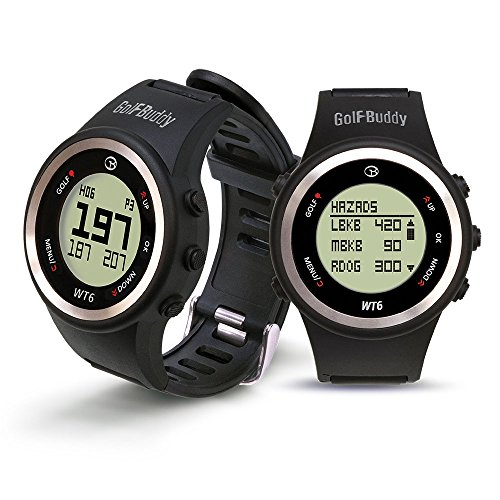 GOLFBUDDY WT6 Golf GPS Watch with Hazard Distance and Auto Course Recognition