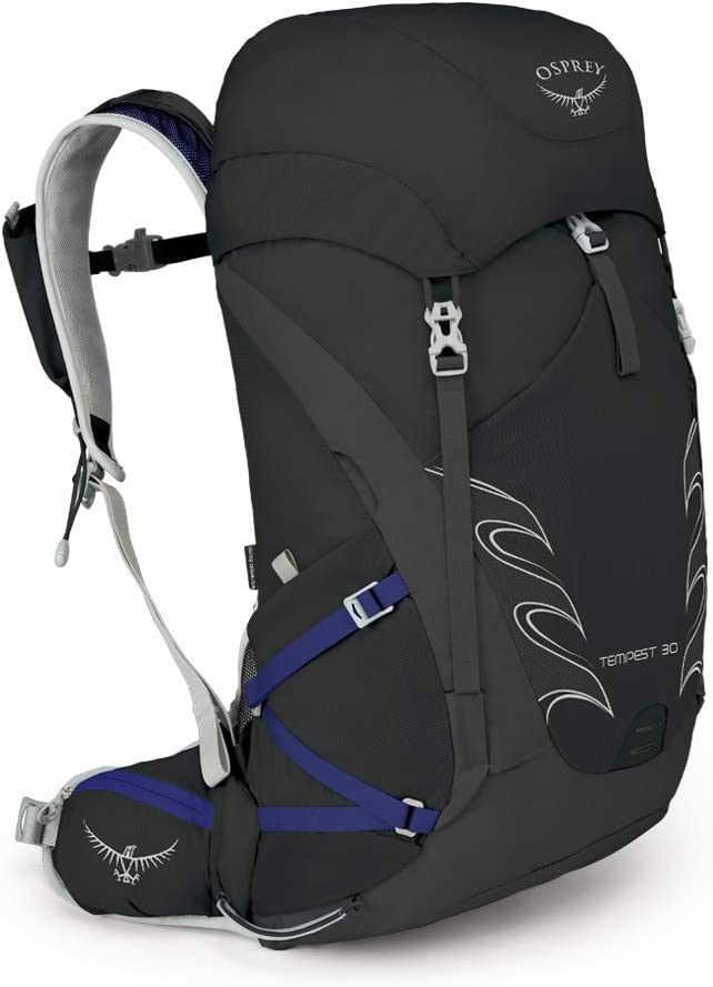 Osprey Tempest 40 Womens Rucksack Hiking Backpack Black One Size