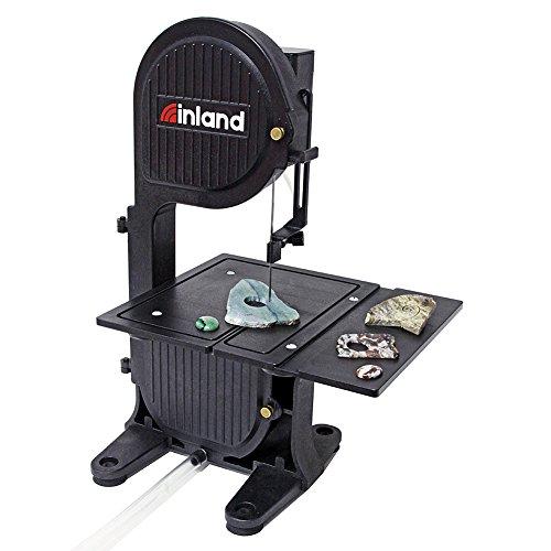 Inland Craft DB-100 Diamond Band Saw | Portable Tabletop Saw | Includes Diamond Band Saw Blade by Inland Craft