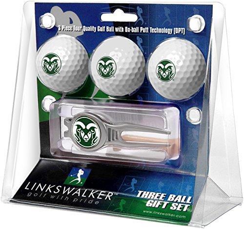 NCAA Colorado State Rams - Kool Tool 3 Ball Gift Pack