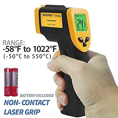 PARTYSAVING -58? - 1022? (-50? - 550?) Non-Contact Infrared Thermometer Temperature Gun with Precision Laser Technology Industrial Automotive Home, APL1349