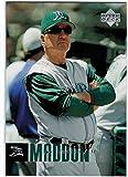 2006 Upper Deck #1195 Joe Maddon RC - First MLB Card - Tampa Bay Devil Rays