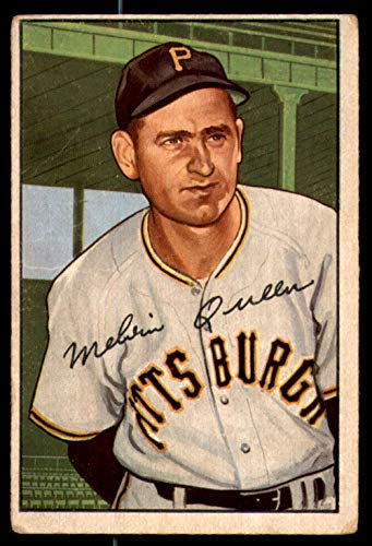 1952 Bowman #171 Mel Queen Very Good Pirates ()