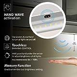 EShine White Finish LED Dimmable Under Cabinet