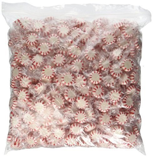 Peppermint Sugar Free Sugar - Sugar Free Starlite Mints Peppermint (5 lb Bulk Bag)