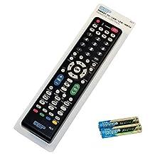 HQRP Remote Control for Sharp AQUOS LC-60E77UN LC-60E88UN LC-60EQ10U LCD LED HD TV Smart 1080p 3D Ultra 4K + HQRP Coaster