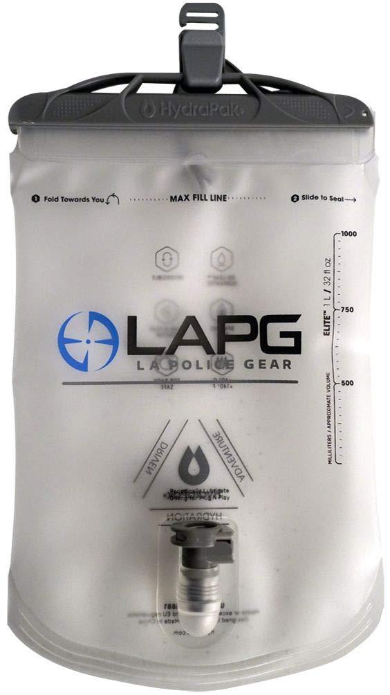 LA Police Gear 1L Elite Reversible Reservoir/Bladder for Hydration Packs by LA Police Gear